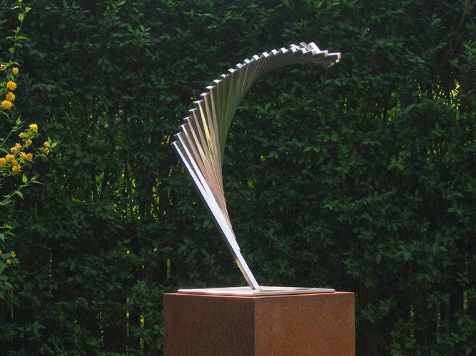 Tuinbeelden Brons Tuin : Beeld tuin modern u2013 studio kop en schotel